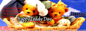 Facebook Cover for Teddy bear Day