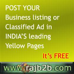 Post Your Business Listing Free at leading online business place - rajb2b.com