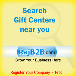 searh a gift center near you at rajb2b.com - business directory of India