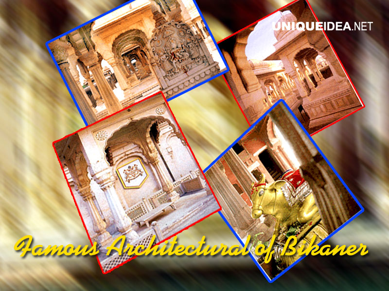 Famous Architectural of Bikaner