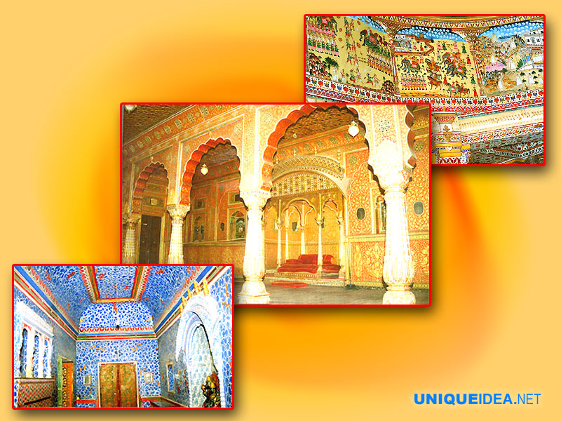 Different styles Painting in Bikaner