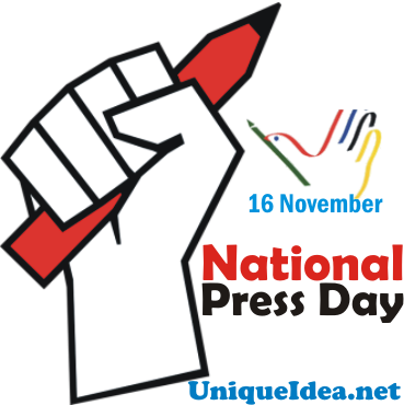National Press Day Whatsapp Stickers